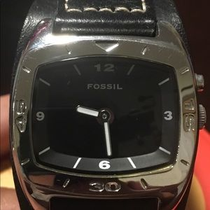 Fossil Watch Genuine Leather